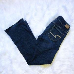 American eagle stretch artist jeans 6R